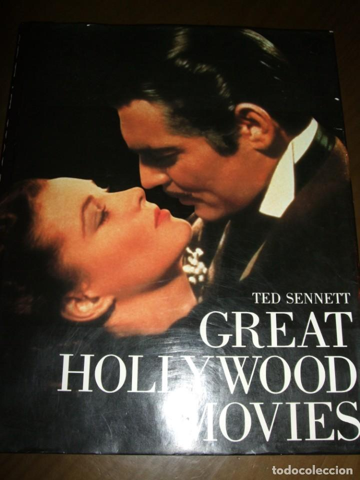 Cine: LIBRO GRAN FORMATO 1983 Great Hollywood Movies Ted Published by Abradale/Abrams - Foto 23 - 141739746