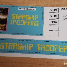 Cine: PEGATINA CINE PELICULA -- STARSHIP TROOPERS. Lote 142905710