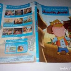 Cine: CARATÚLA JUANITO JONES - PARA DVD. Lote 142994150