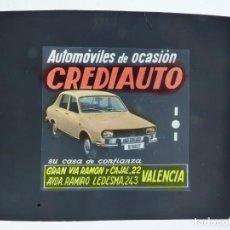 Cine: CREDIAUTO AUTOMOVILES RENAULT 12 - PUBLICIDAD EN CELULOIDE PARA EL CINE, EN VALENCIA, AÑOS 1960. Lote 143181706