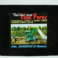 Cine: TALLERES ELIAS PEREZ, MOTORES LISKA - PUBLICIDAD EN CELULOIDE PARA EL CINE, EN VALENCIA, AÑOS 1960. Lote 143183486