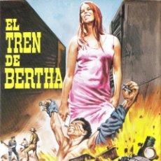 Cine: MINI POSTER EL TREN DE BERTHA (32X22). Lote 143488302