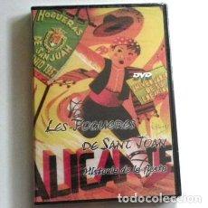 Cine: LES FOGUERES DE SANT JOAN HOGUERAS SAN JUAN DVD PRECINTAD DOCUMENTAL IMÁGENES D 1928 HISTORIA FIESTA. Lote 143779894