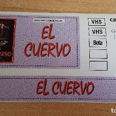 Cine: PEGATINA CINE PELICULA -- EL CUERVO (THE CROW) . Lote 145359698