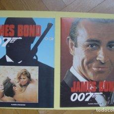 Cine: JAMES BOND 007 (PLANETA DE AGOSTINI) Nº 1, 1995. CON PÓSTER. COLECCIONISTA. ORIGINAL. Lote 145547086