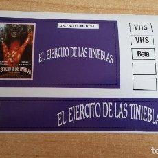 Cine: PEGATINA PELICULA CINE - EL EJERCITO DE LAS TINIEBLAS - BRUCE CAMBELL - SAN RAINI - ASH VS EVIL DEAD. Lote 145801566