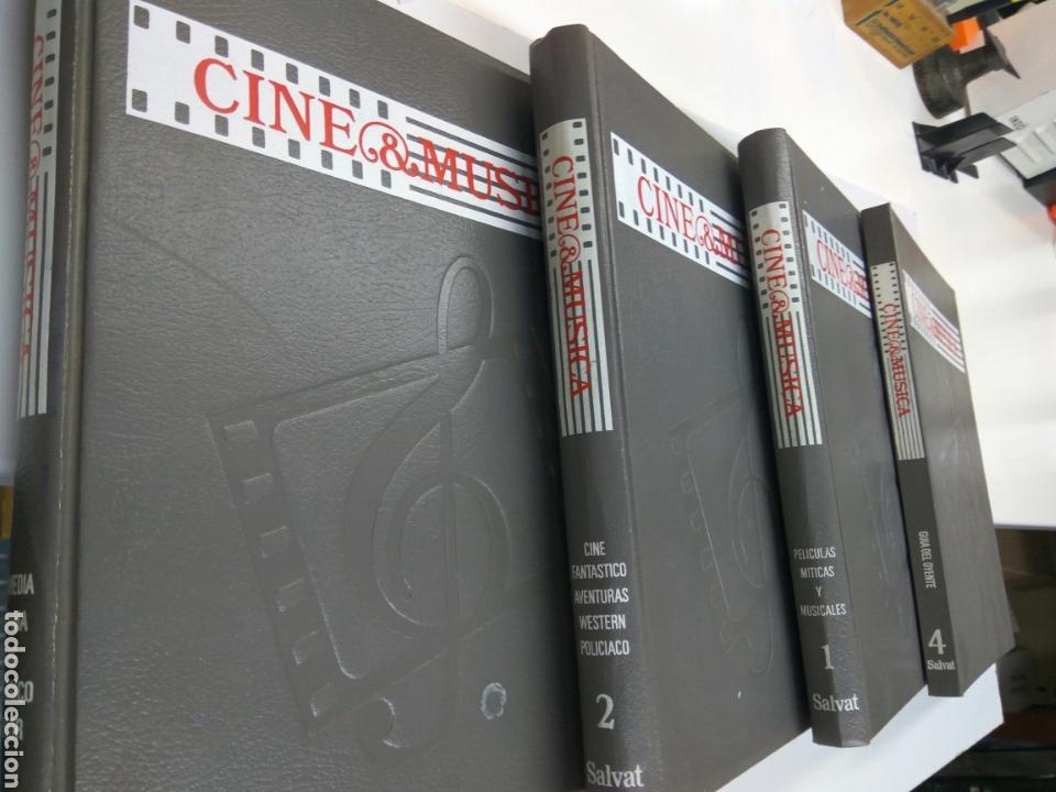 Cine: LIBROS CINE Y MÚSICA 4 TOMOS SALVAT - Foto 2 - 146412017