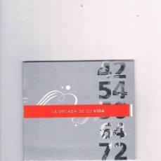 Cine: LA DECADA DE SU VIDA DVD 1928 1939 SANTANDER SELECT BANCO. Lote 146621486