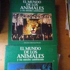 Cine: 21 LASER DISC EL MUNDO DE LOS ANIMALES Y SU MEDIO AMBIENTE . Lote 146621554