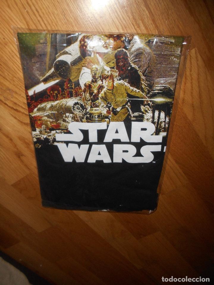 Cine: Camiseta manga corta STAR WARS TRILOGIA COLOR NEGRO TALLA L nueva ETIQUETA EXCLUSIVA DISNEY - Foto 3 - 146937802