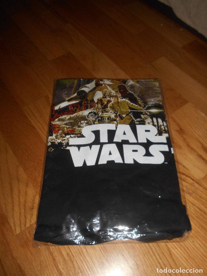 Cine: Camiseta manga corta STAR WARS TRILOGIA COLOR NEGRO TALLA L nueva ETIQUETA EXCLUSIVA DISNEY - Foto 4 - 146937802