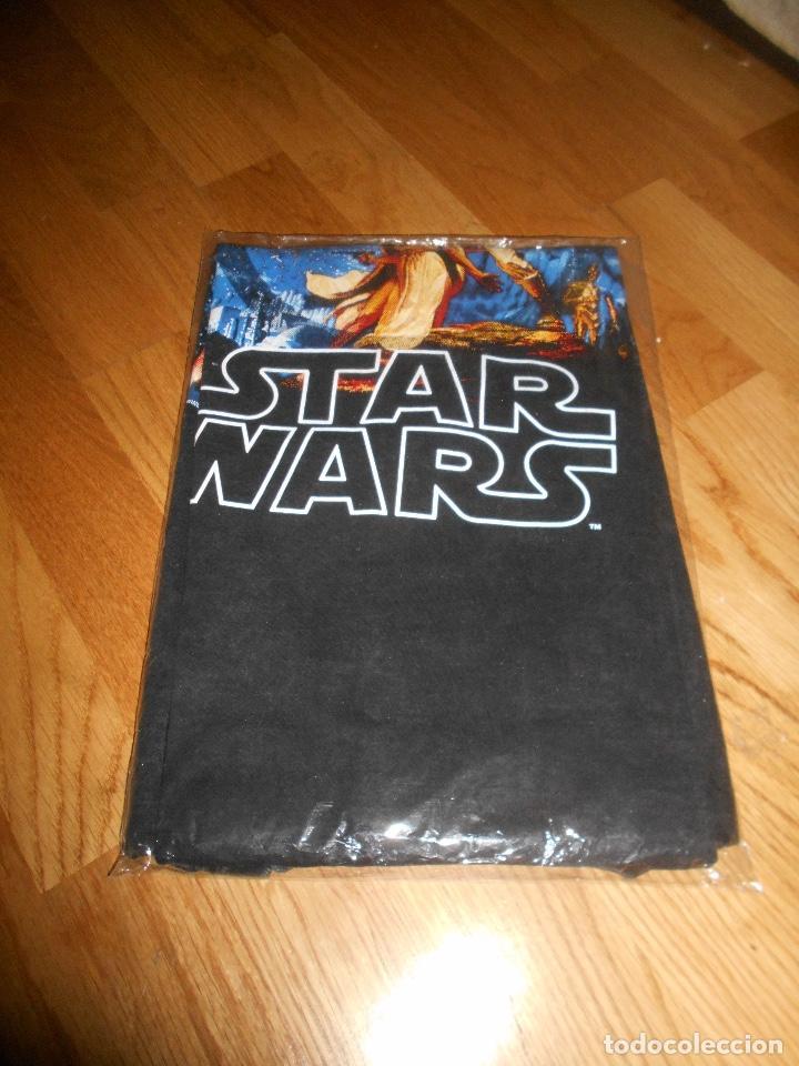 Cine: Camiseta manga corta STAR WARS TRILOGIA COLOR NEGRO TALLA L nueva ETIQUETA EXCLUSIVA DISNEY - Foto 3 - 146938142