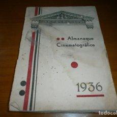 Cine: ALMANAQUE CINEMATOGRÁFICO 1936 - CINE ECHEGARAY (1936).. Lote 147014942