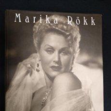 Cine: LIBRO - MARIKA RÖKK - EDITION ART-WINGS - MUY ILUSTRADO - EN ALEMAN - . Lote 147190950