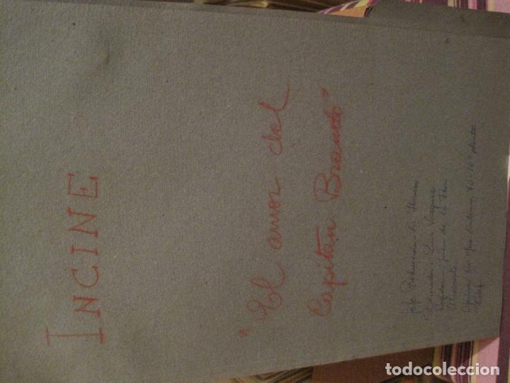 Cine: 6 CARPETAS CON DESGLOSES DE ATREZZO DE CiNE DE TERROR ESPAÑOL AÑOS 70(ver descripción)) - Foto 3 - 147294834