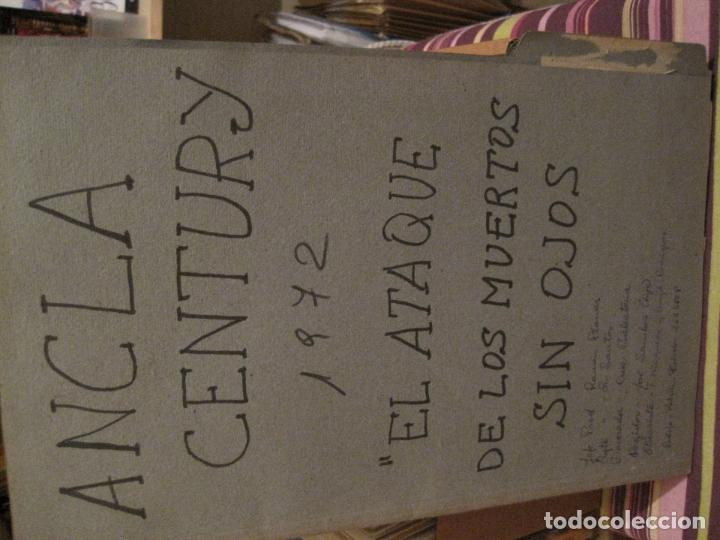 Cine: 6 CARPETAS CON DESGLOSES DE ATREZZO DE CiNE DE TERROR ESPAÑOL AÑOS 70(ver descripción)) - Foto 4 - 147294834