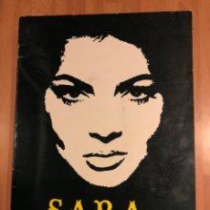 Cine: PROGRAMA DE SARA SARITA MONTIEL. Lote 148237874