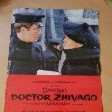 Cine: CARTEL CINE METRO GOLDWYN MAYER DICTOR ZHIVAGO DAVID LEAN. Lote 148408634