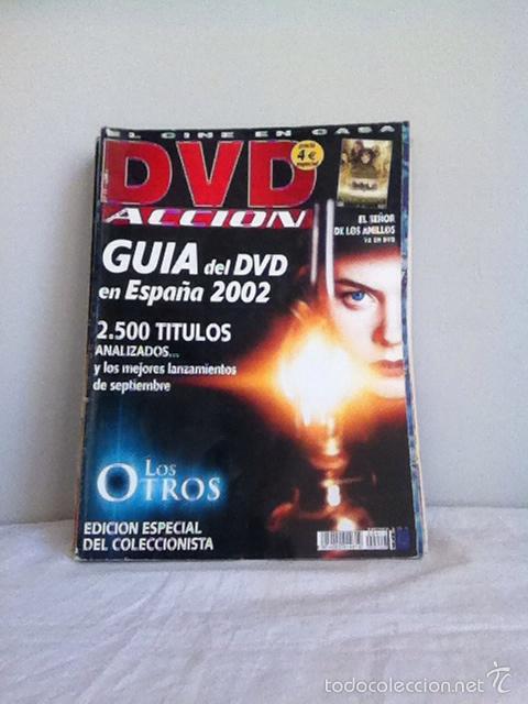 DVD ACCION. N 17 GUÍA DEL DVD 2002 (Cine - Varios)