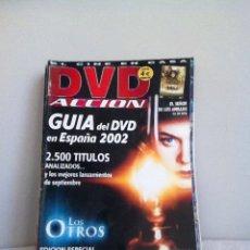 Cine: DVD ACCION. N 17 GUÍA DEL DVD 2002. Lote 151515568