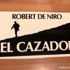 Cine: CLICHÉ PARA PRENSA EL CAZADOR ROBERT DE NIRO.20X10 CM. Lote 151909781