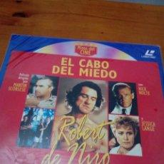Cine: MITOS DEL CINE. EL CABO DEL MIEDO. LASER DISC. NUEVO PRECINTADO. EST23B7. Lote 152334918