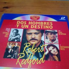 Cine: DOS HOMBRES Y UN DESTINO. MITOS DEL CINE. LASER DISC. EST23B7. Lote 152335214