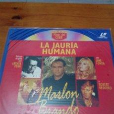 Cine: LA JAURIA HUMANA. MITOS DEL CINE. LASER DISC. NUEVO PRECINTADOS. EST23B7. Lote 152336106