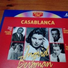 Cine: MITOS DEL CINE. CASABLANCA. LASER DISC. EST23B7. Lote 152336318