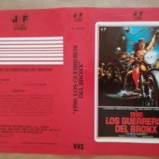 Cine: CARÁTULA PELÍCULA VÍDEO VHS 1990 LOS GUERREROS DEL BRONX. Lote 155633178