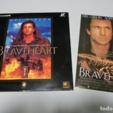 Cine: LASER DISC - BRAVEHEART. Lote 156005978