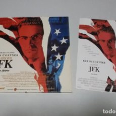 Cine: LASER DISC - JFK. Lote 156006550