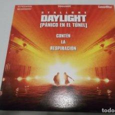 Cine: LASER DISC - DAYLIGHT - PANICO EN EL TUNEL. Lote 156008246