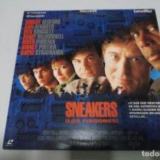 Cine: LASER DISC - SNEAKERS - LOS FISGONES. Lote 156008350