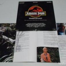 Cine: LASER DISC - JURASSIC PARK - PARQUE JURASICO. Lote 156008462