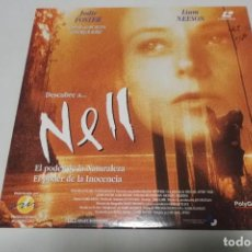 Cine: LASER DISC - NELL. Lote 156008558