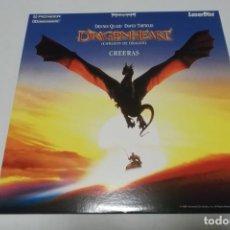 Cine: LASER DISC - DRAGONHEART. Lote 156008614