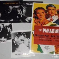 Cine: LASER DISC THE PARADINE. Lote 156009686