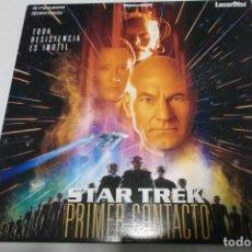 Cine: LASER DISC - STAR TREK PRIMER CONTACTO. Lote 156009842