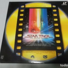 Cine: LASER DISC - STAR TREK THE MOTION PICTURE. Lote 156009930
