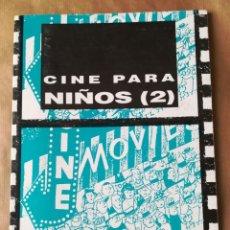 Cine: LIBRO CINE PARA NIÑOS (2) - GENERALITAT VALENCIANA. Lote 157859766
