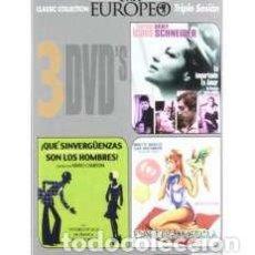 Cine: PACK CINE EUROPEO 2 (3 PELÍCULAS) [DVD]. Lote 158062720