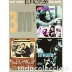 Cine: PACK CINE EUROPEO 3 [DVD]. Lote 158062728