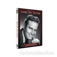 Cine: RETROSPECTIVA CHARLTON HESTON [DVD]. Lote 158043904