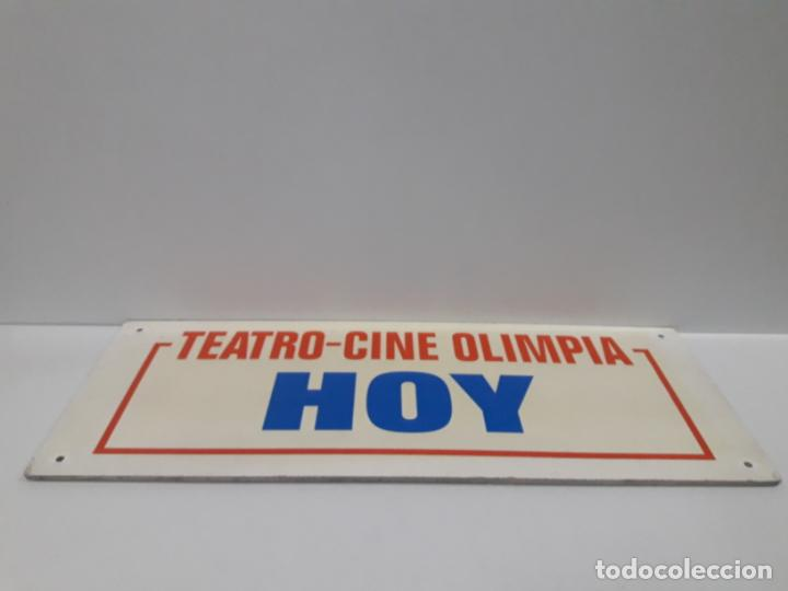 Cine: ORIGINAL CARTEL DE LA CARTELERA DEL TEATRO - CINE OLIMPIA DE HUESCA . TEATRO - CINE OLIMPIA HOY - Foto 5 - 158946254