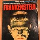 Cine: DESPLEGABLE POSTER TERROR FICCIÓN FRANKENSTEIN BORIS KARLOFF.CINEPOSTER. Lote 159449748