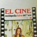 Cine: FASCÍCULO EL CINE ENCICLOPEDIA SALVAT DEL 7° ARTE N 16. Lote 160490381