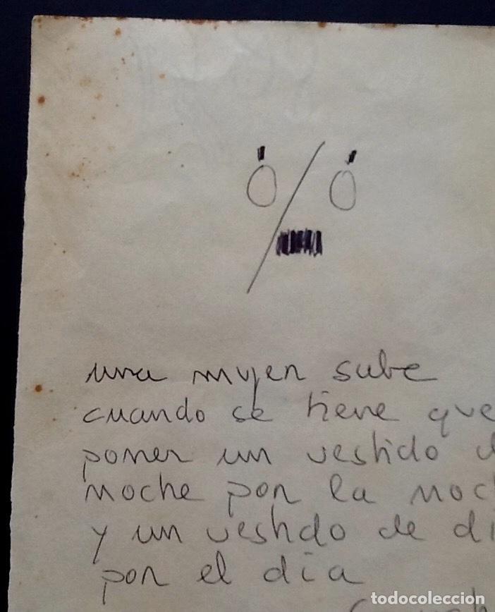 Cine: GROUCHO MARX. CURIOSO DIBUJO-FRASE-OPPER MEXICO 1936. ENVIO CERTIFICADO INCLUIDO. - Foto 2 - 162566474