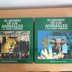 Cine: COLECCIÓN LASERDISC. EL MUNDO DE LOS ANIMALES Y SU MEDIO AMBIENTE (1991). Lote 162772886