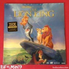 Cine: LASER DISC - THE LION KING - EL REY LEÓN - EDICIÓN THX LASER DISC - EN INGLÉS - A ESTRENAR. Lote 211595952